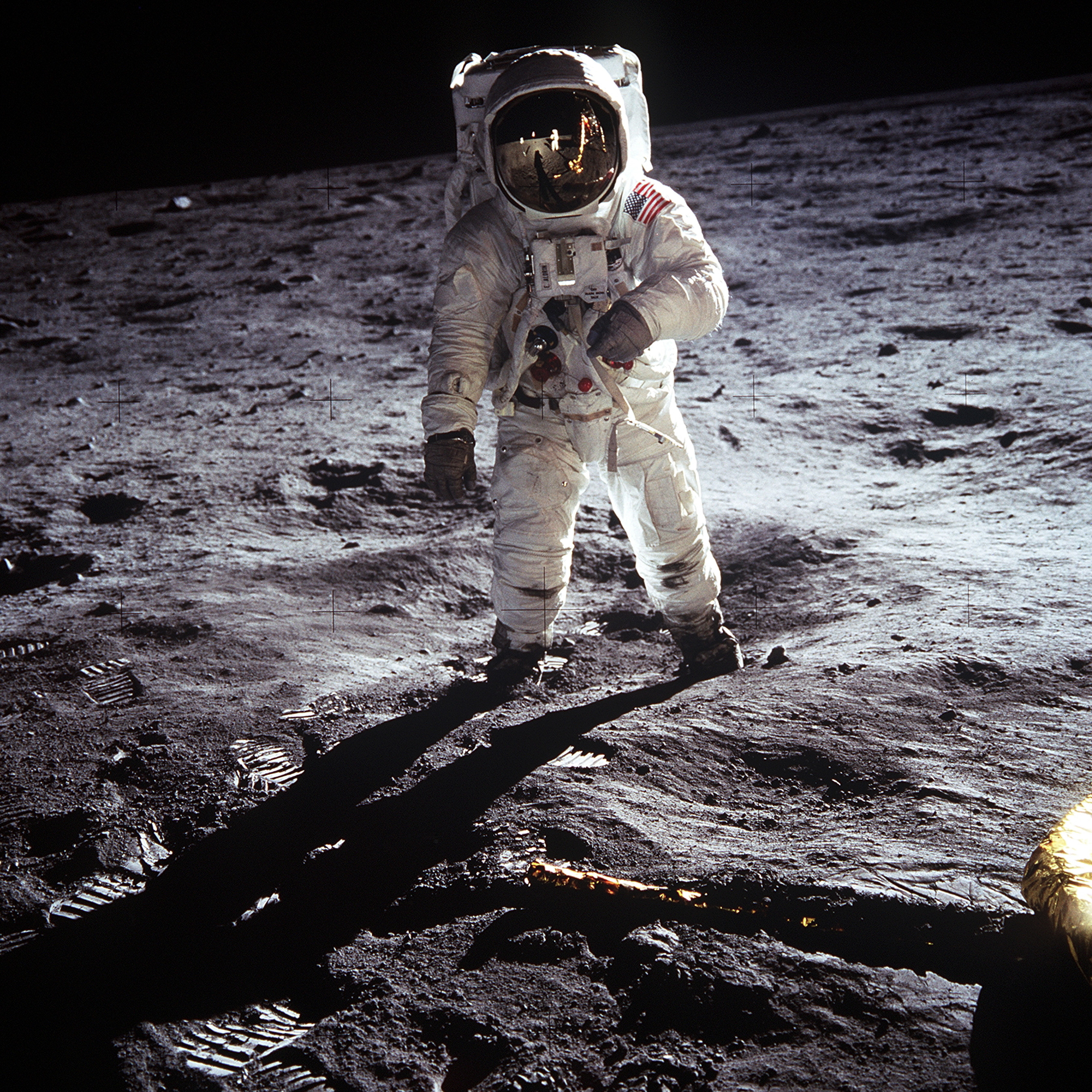 Buzz Aldrin on the Moon (Apollo 11)