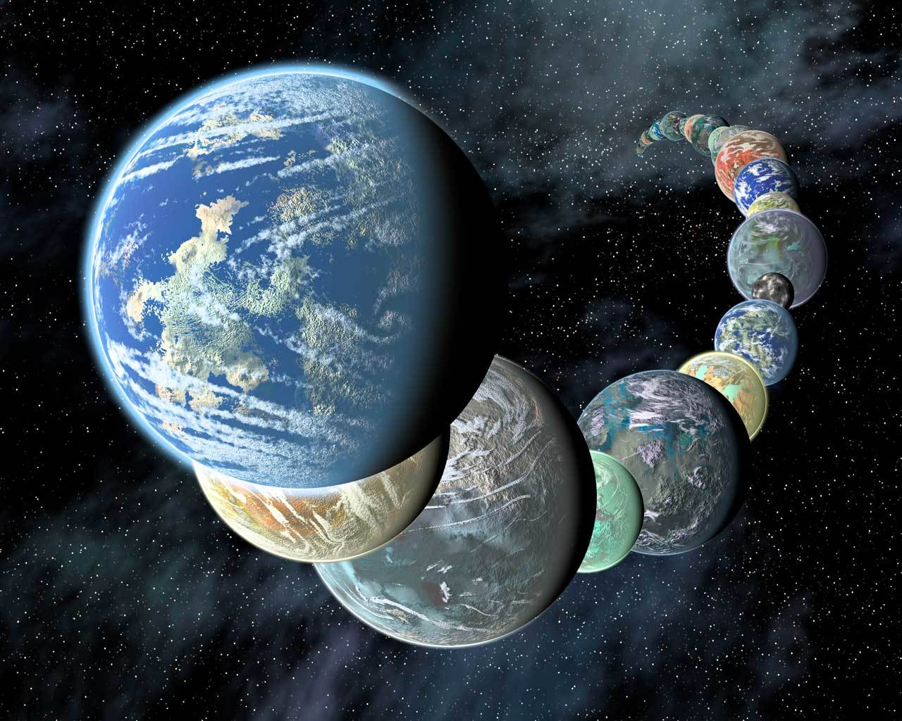 Variety of Known Exoplanets